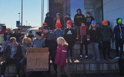 Loftslagsverkfall á Höfn