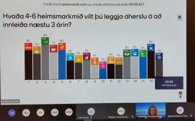 Unga fólkið og Heimsmarkmiðin