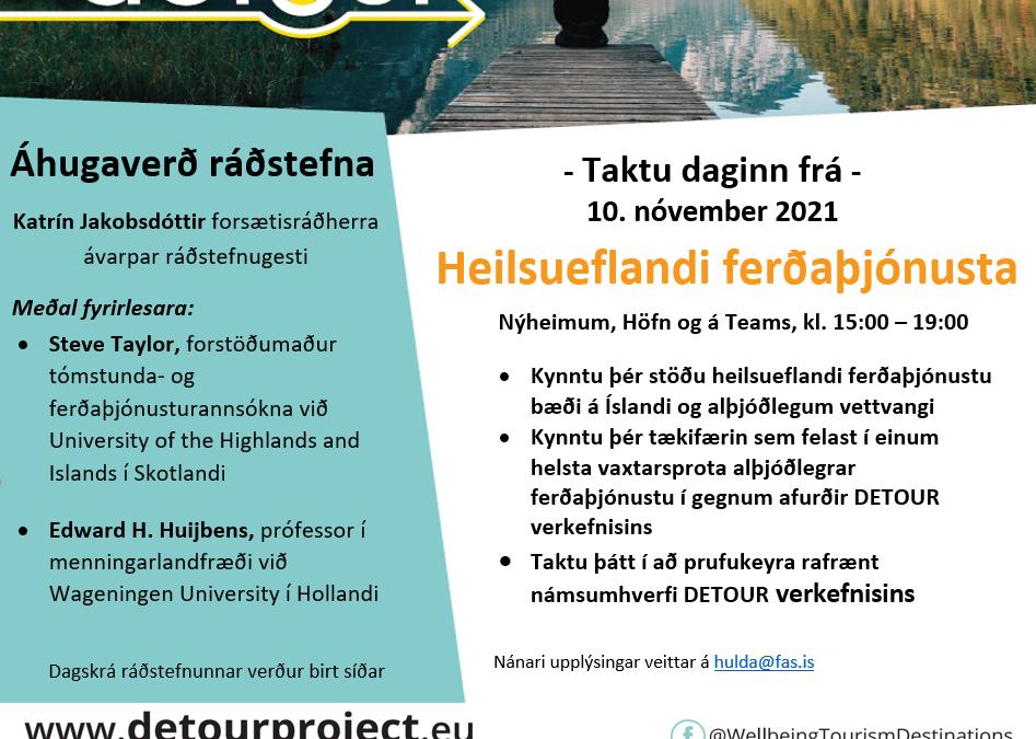 Lokaráðstefna í DETOUR verkefninu